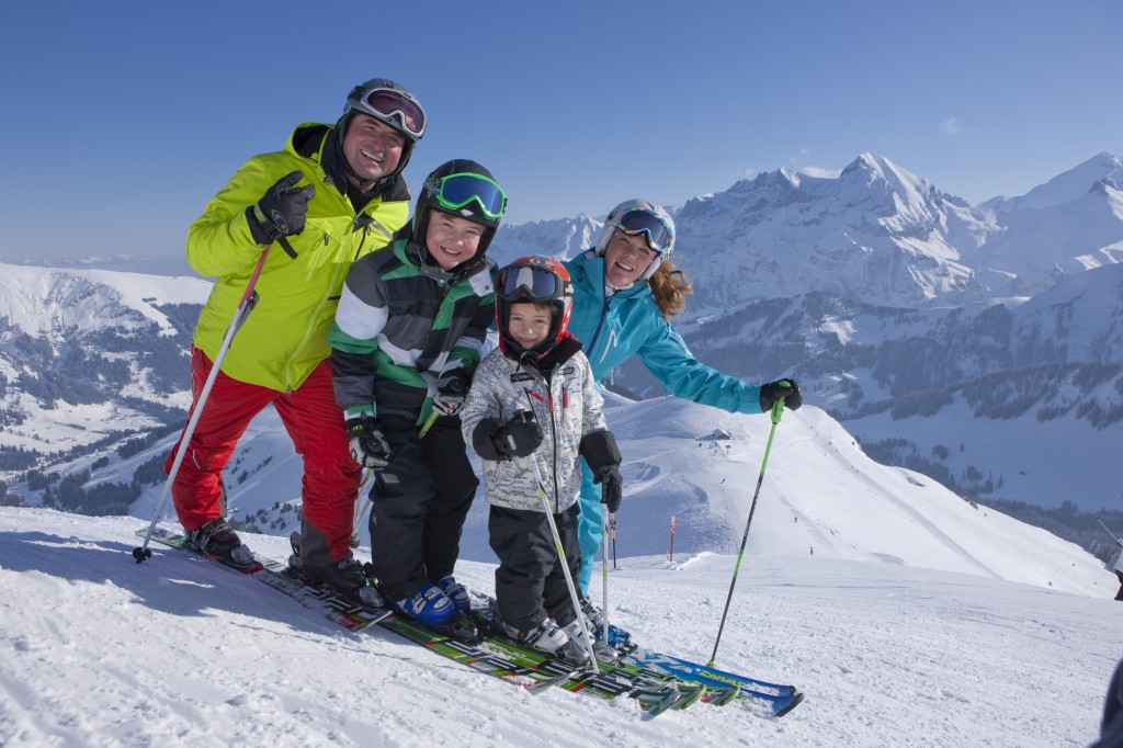 Family Ski Fun, Adelboden (Credit: PHOTOPRESS/Adelboden/Christof Sonderegger)