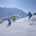 Skiing with kids in Switzerland