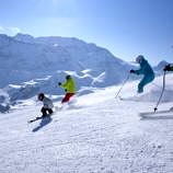 Skiing with kids in Switzerland