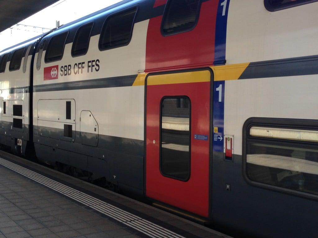 All aboard the Swiss train