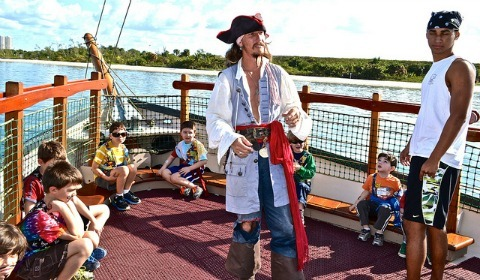 Pirate Boat Tour West Palm Beach Florida