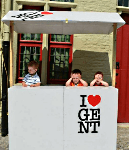 We love Ghent, Belgium!