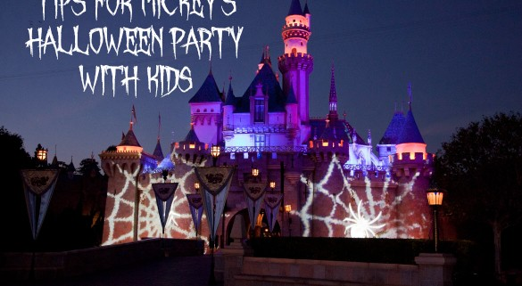 Tips for Mickey's Halloween Party with Kids
