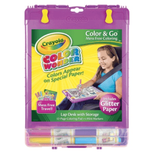 Pick up a new Crayola Color Wonder before every family vacation