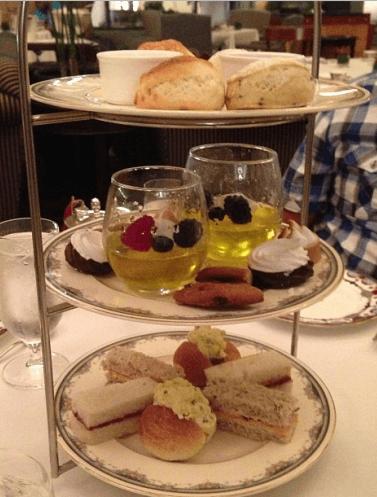 Kids' Bubblegum Tea at the Fairmont Hotel Vancouver