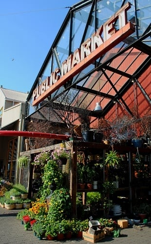 The Public Market on Vancouver's Granville Island