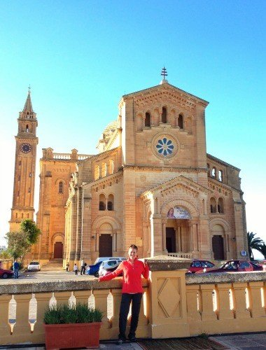 Ta' Pinu Sanctuary on Gozo