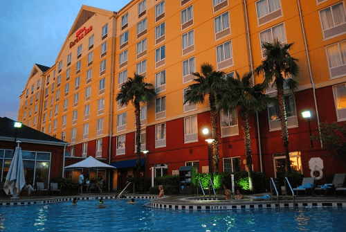 Hilton Garden Inn Orlando's lovely outdoor pool