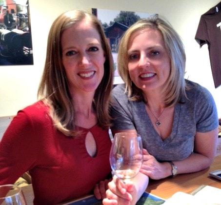Wine tasting at The Ojai Vineyard Tasting Room