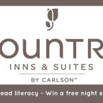 Spread literacy and win a free night stay at Country Inns & Suites with Passports with Purpose 2013