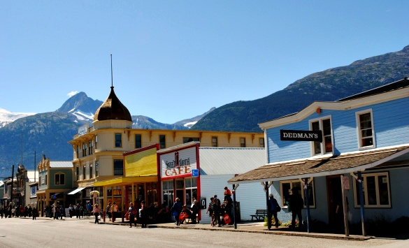 Skagway's downtown is so picturesque, it feels plucked from a Disney movie