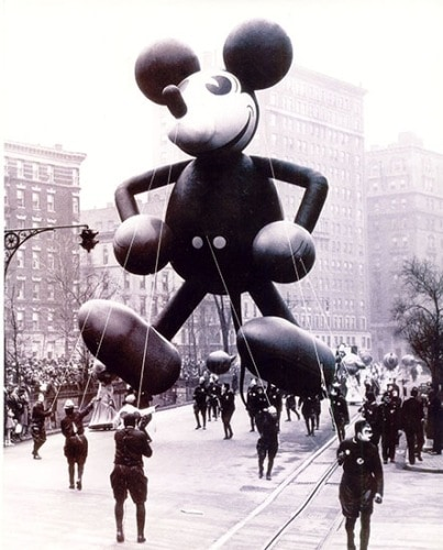 Mickey Mouse balloon from the 1934 Macy's Thanksgiving Day Parade