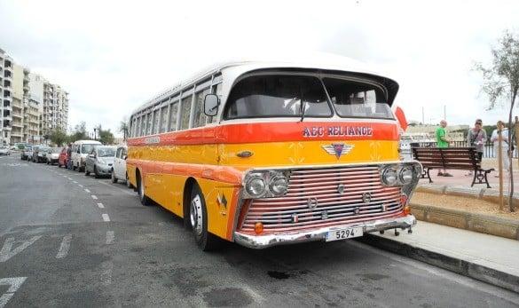 Original bus of Malta.