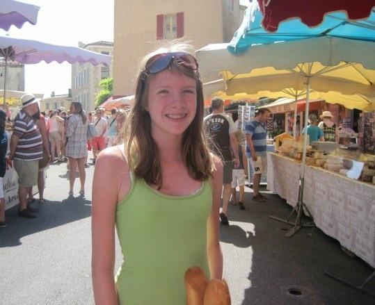 Gordes France market shopping