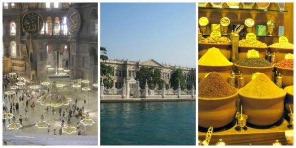 Istanbul Turkey Hagia Sophia Spice Market Bosphorus cruise