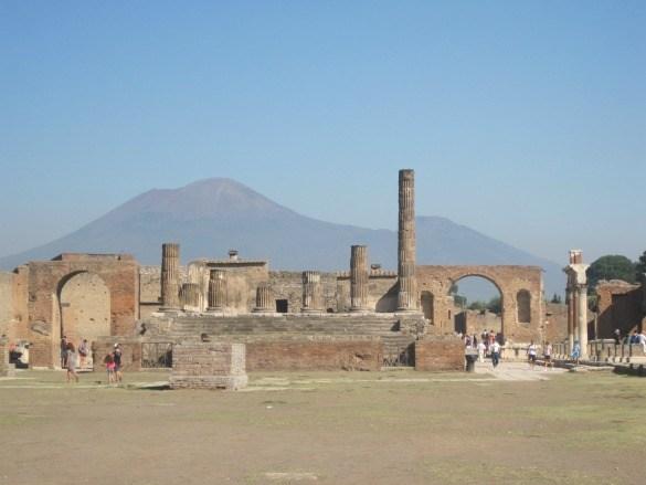 Pompeii ruins Mt. Vesuvius