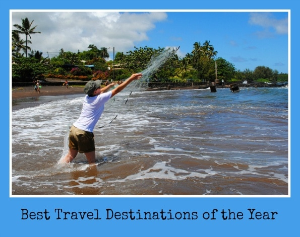 Best travel destinations of the year
