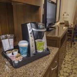 Hilton Garden Inn and Keurig Coffee - Hooray!