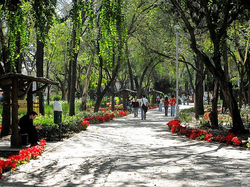 Chapultepec Park in Mexico City
