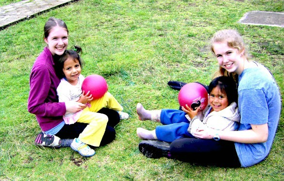 Quito Ecuador daycare volunteer work