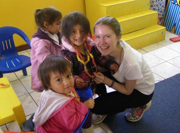 Ecuador Quito Daycare children