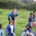 Ecuador Quito daycare children playing