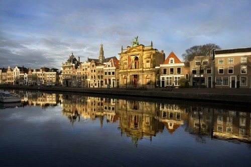 17th Century buildings in Haarlem, Holland