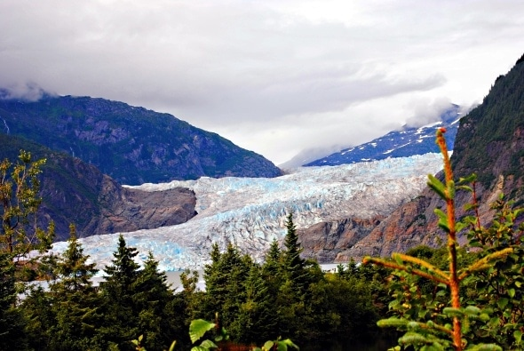 The beauty of Mendenhall Glacier