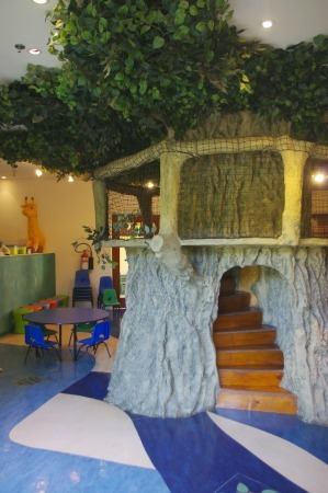 Kids For All Seasons indoor tree house Four Seasons Punta Mita