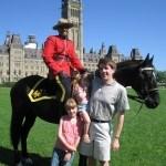 Ottawa Canada Parliament Hill Mountie