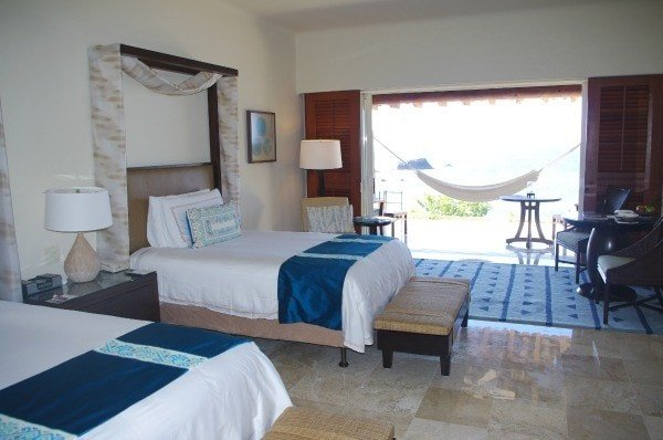 Four Season Punta Mita guest room with hammock on lanai
