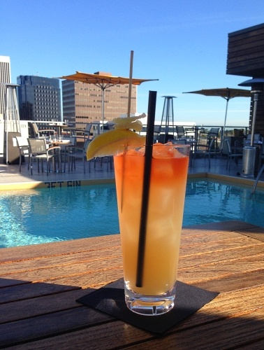 A Wilshire Mule at The Roof on Wilshire