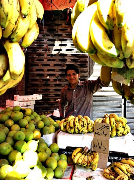 The delights of the Amman Souk (Photo credit: C. Laroye)