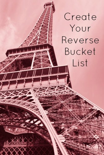 Create a Reverse Bucket List - An Exercise in Gratitude and Pride
