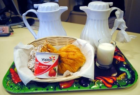 Breakfast at Hofsas House