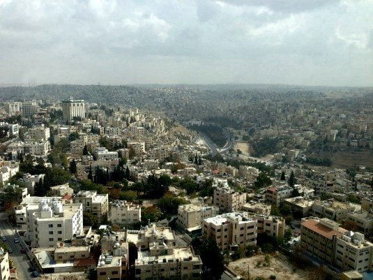 Amman - a city in white (Photo credit: Claudia Laroye)