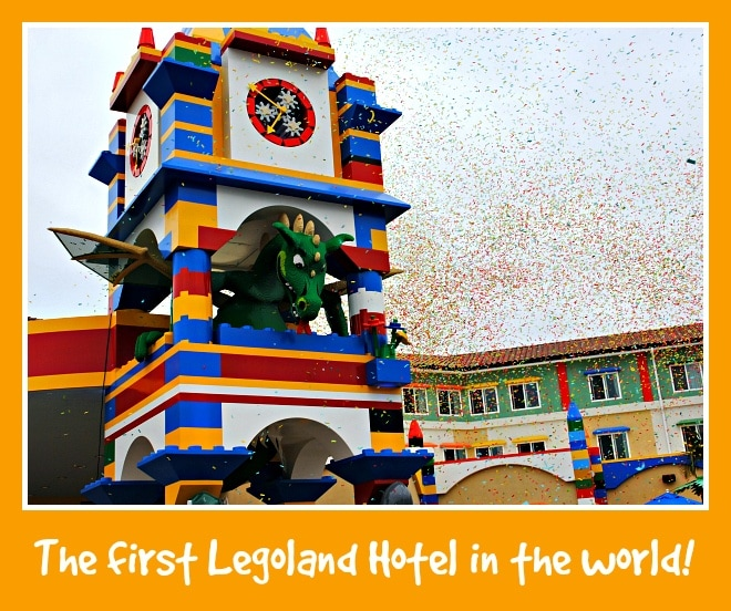 The first Legoland Hotel in the world, in Carlsbad, California