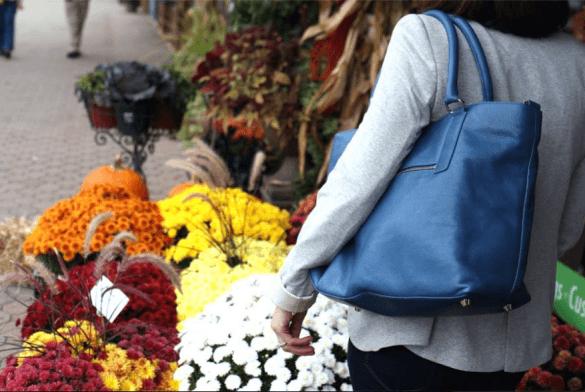 Overtime Bag in blue