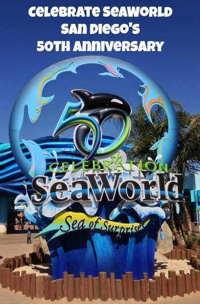 Celebrate SeaWorld San Diego 50th Anniversary