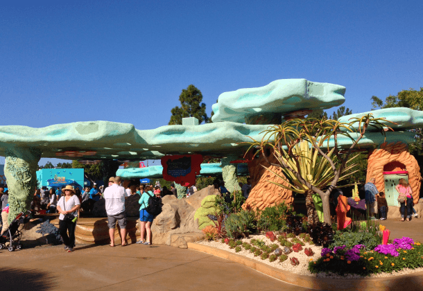 The Explorer's Reef touch pools are located on over three acres at SeaWorld San Diego