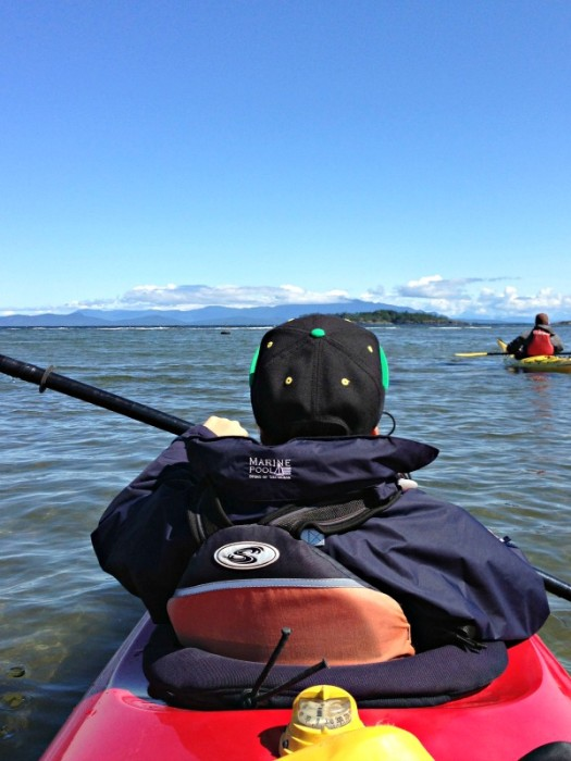 Get out and play on the water with an ocean-going kayak.
