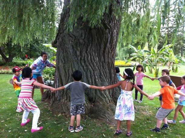 Toronto Botanical Garden campers