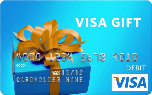 Win one of two $50 Visa gift cards!