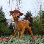 disney epcot topiary bambi