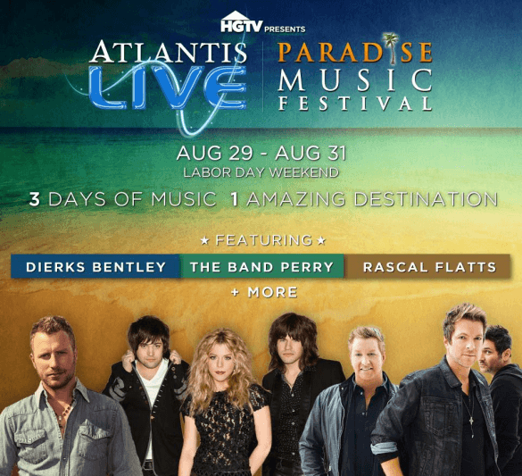 Atlantis LIVE Paradise Music Festival (Photo credit: Atlantis Resort)