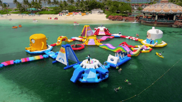 Now THAT'S an obstacle course! (Photo credit: Atlantis Resort)