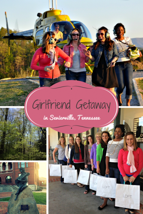 Southern-style Girlfriend Getaway in Sevierville, Tennessee