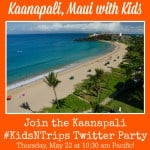 Kaanapali with Kids Twitter Party