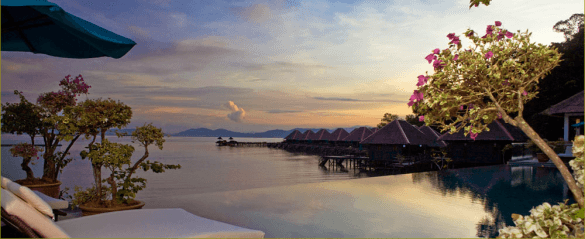 Gayana Eco Resort infinity pool for water lovers in Malaysia