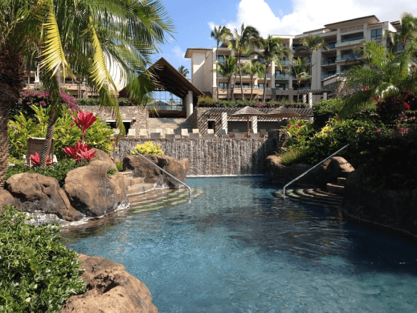 5 Best Preferred Family Hotel Pools: Pool at the Residences at Kapalua Bay on Maui, Hawaii